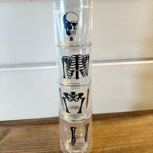 Other - Acrylic Stacking Skeleton Shot Glasses Set